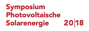 Symposium Photovoltaische Solarenergie 2018
